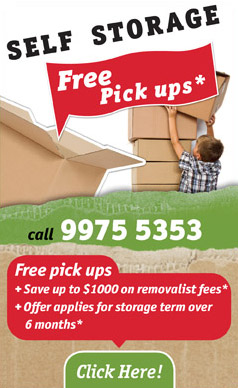 Self storage Northern Beaches and North Shore
