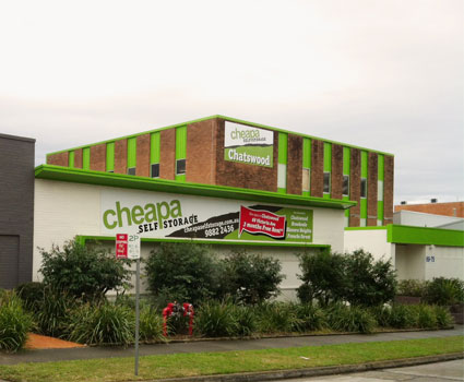 Cheapa Self Storage Chatswood NSW